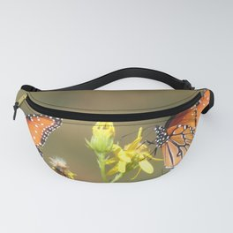 A Pair of Queens on Rubber Rabbitbrush Fanny Pack