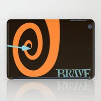 brave iPad Cases featuring Brave by Citron Vert