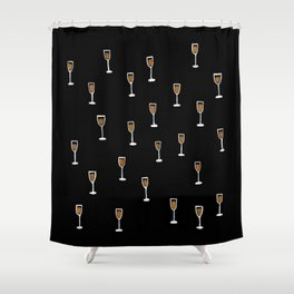 More Champagne Please Shower Curtain