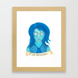 Lapis Lazuli Framed Art Print