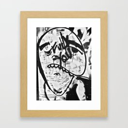 Don't Be Sad Framed Art Print