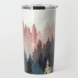 Spring Forest Light Travel Mug