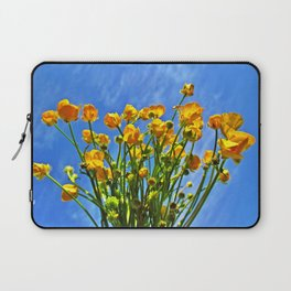 The Sky Is Yellow Laptop Sleeve