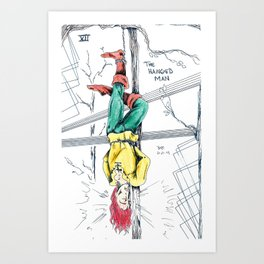 The Hanged Man: Major Arcana Art Print