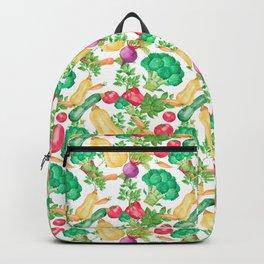 Vegetarian Pattern Backpack