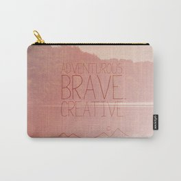 the secret life of walter mitty.. adventurous brave creative Carry-All Pouch