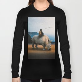 Looking Nowhere Long Sleeve T-shirt