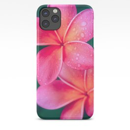Aloha Hawaii Kalama O Nei Pink Tropical Plumeria iPhone Case