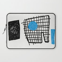 a graphic montage Laptop Sleeve