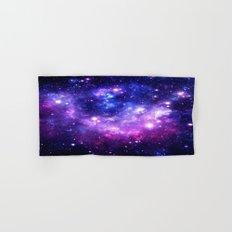 Purple Blue Galaxy Nebula Hand & Bath Towel