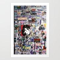 Stickup Art Print