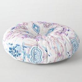 Wonderland in Winter Floor Pillow