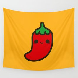 Cute chilli Wall Tapestry