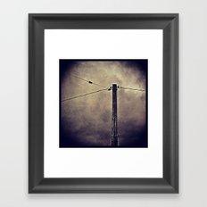 'CONNECT' Framed Art Print