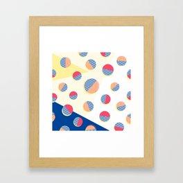 Japanese Patterns 01 Framed Art Print