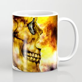 Fire and Skull Coffee Mug
