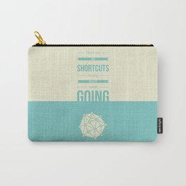 Lab No. 4 - No Shortcuts Beverly Sills Quotes Poster Carry-All Pouch