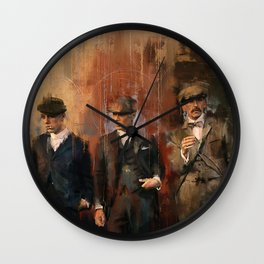 Shelby Brothers Wall Clock