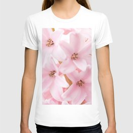 Pink hyacinth T-shirt