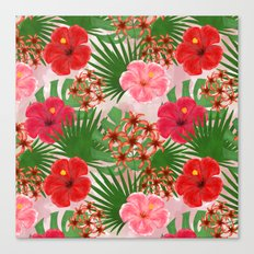 Colorful tropical pattern.1 Canvas Print