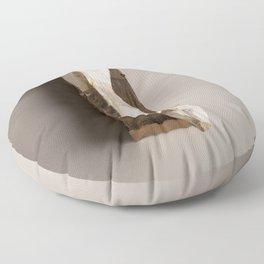 Mongrel Grey Floor Pillow