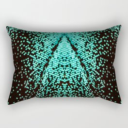 Green Swallowtail Butterfly Rectangular Pillow