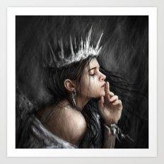 Queen of Secrets Art Print