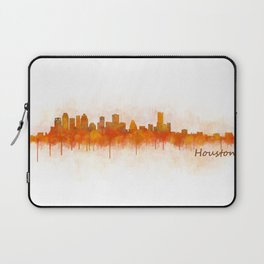 Houston City Skyline Hq v3 Laptop Sleeve