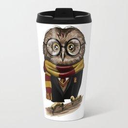 Owl Gryffindor Travel Mug