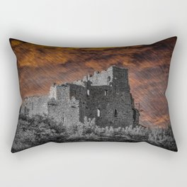 St. John's Castle, Carlingford, Rep. of Ireland Rectangular Pillow