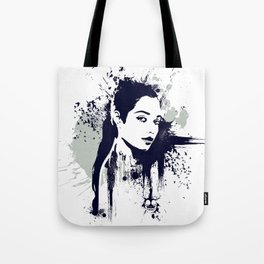 A Girl Tote Bag