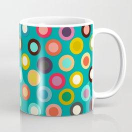 turquoise pop spot Coffee Mug