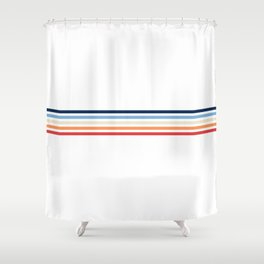 Vintage T-shirt No5 Shower Curtain