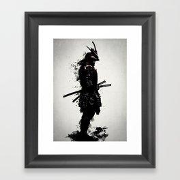Armored Samurai Framed Art Print