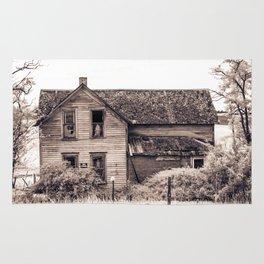 Skeleton In The Haunted House, Idaho Rug