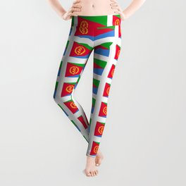 flag of Eritrea -ertirean, ኤርትራ ,إرتريا ,punt,Saba,asmara Leggings