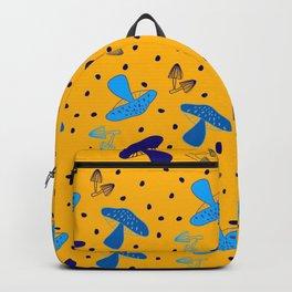 Dancing yellow mushrooms! Backpack