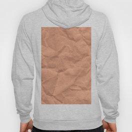 Kraft paper. crumpled paper Hoody
