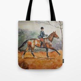 Fall Rider Tote Bag