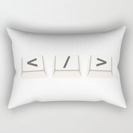 Code Rectangular Pillow