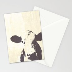 Rustic Cow Stationery Cards