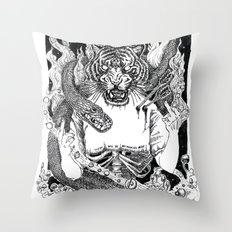 No Miracles Here Today Throw Pillow