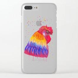 Le Coq flamboyant Clear iPhone Case
