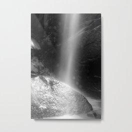 Rock in the Falls Metal Print