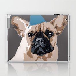 Milo on dark grey Laptop & iPad Skin