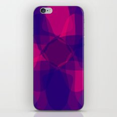 Floral Cold Nature Background iPhone & iPod Skin