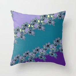 Blues Again Throw Pillow