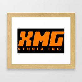 XMG Studio, Orange Framed Art Print