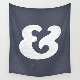 Cooper Black Ampersand Wall Tapestry