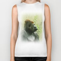 ape Biker Tanks featuring Ape by Shalisa Photography